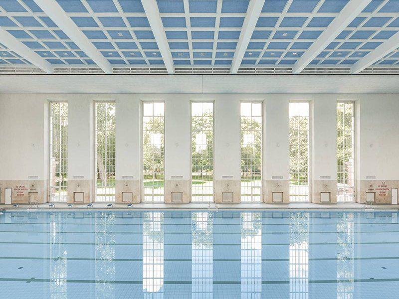 Una piscina a Berlino d'epoca nazista vede una nuova luce