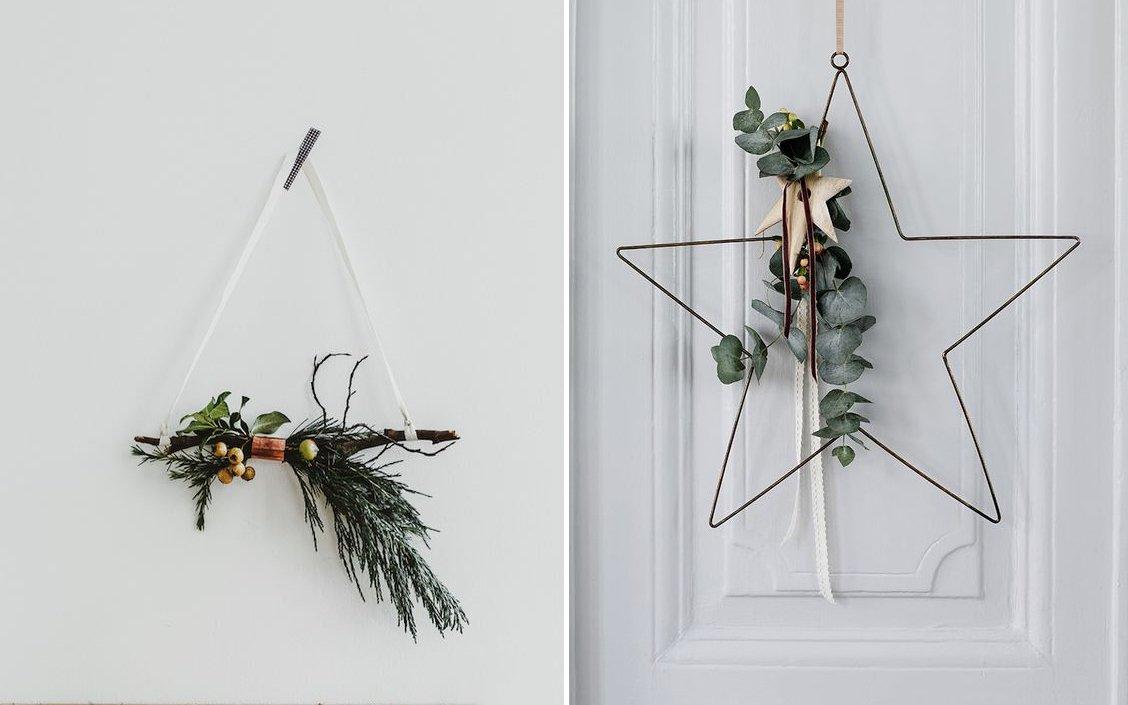 Ghirlande da porta: ispirazioni per un Natale scandi style-1