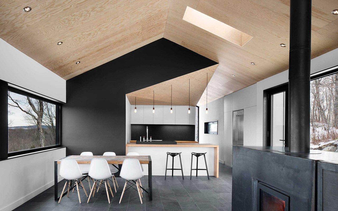 Home tour un cottage moderno e minimale architempore for Interni case moderne immagini
