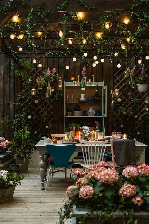 Giardini romantici: lights & plants X Urban Jungle Bloggers