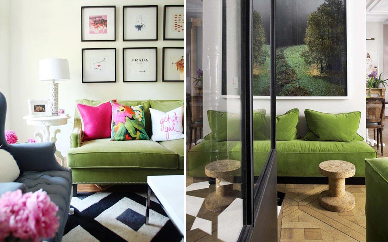 Una casa Greenery: ispirazioni colore Pantone 2017