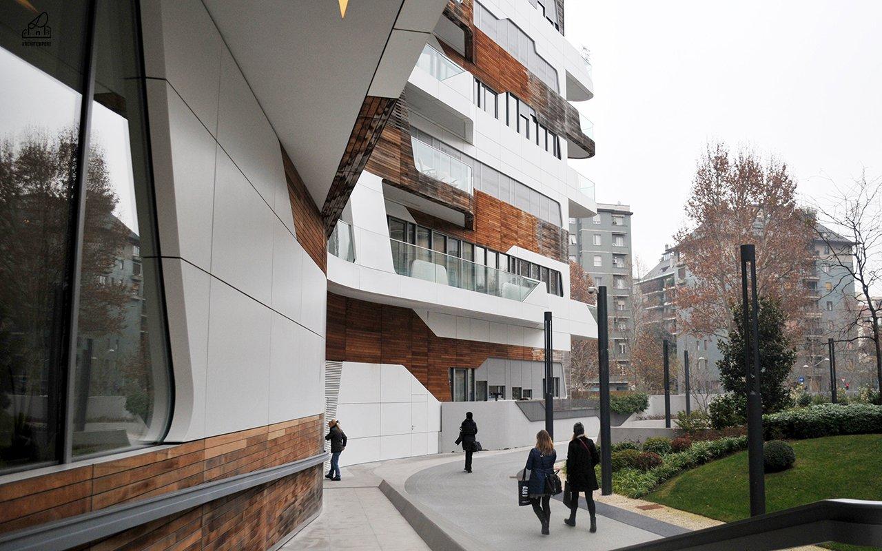 Home tour | L'attico delle residenze Zaha Hadid a Milano