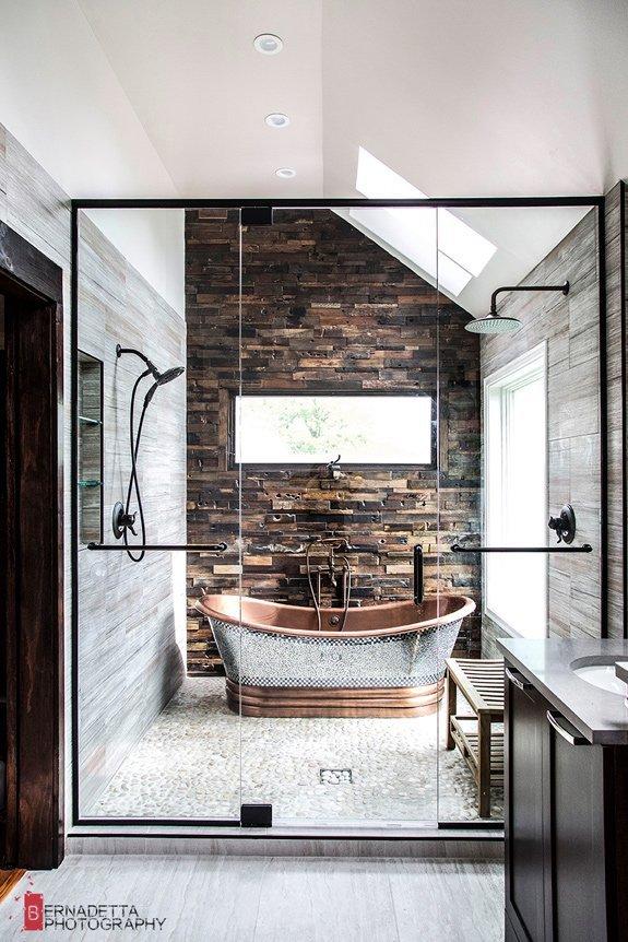 Home tour | Un bagno rustico e moderno