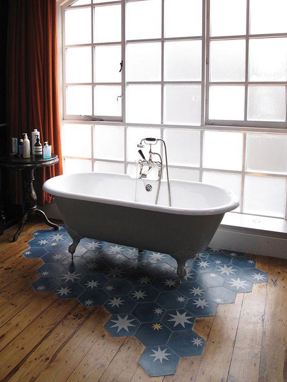 Quando mancano le piastrelle del pavimento architempore - Pavimento e rivestimento bagno uguale ...