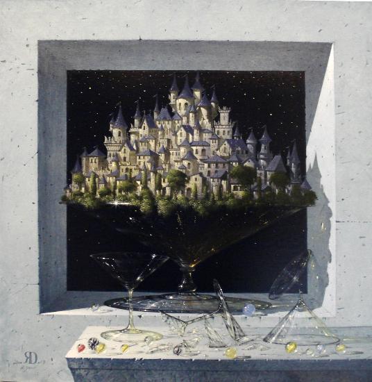 #ChiediamoloA Rolando Greco pittore surrealista