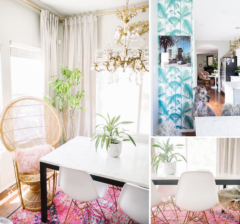 Home Tour | Una casa in stile boho dai colori vitaminici
