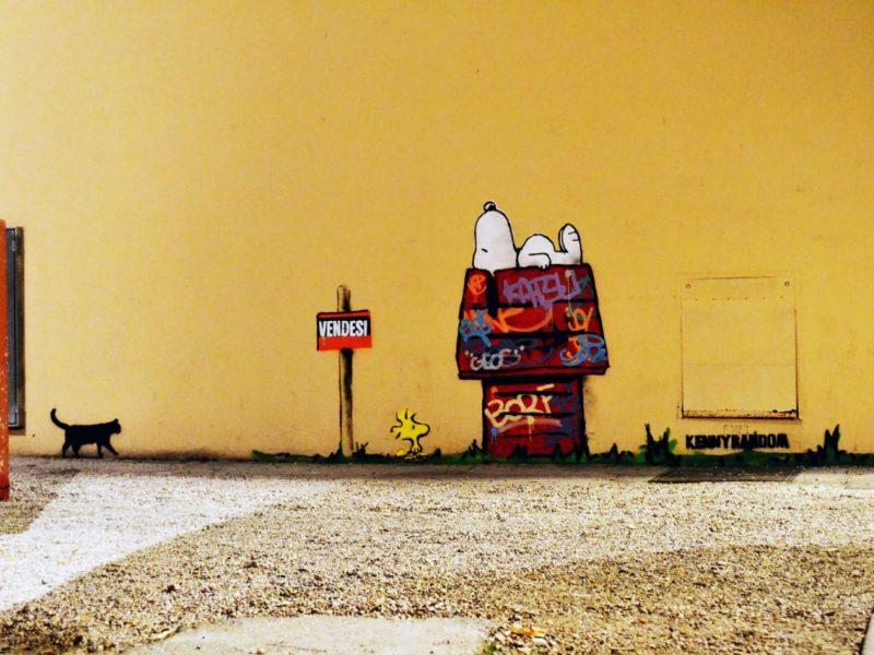 Lo street art di Kenny Random a Padova