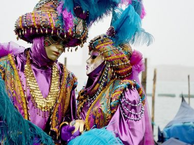 50 sfumature di maschere veneziane!