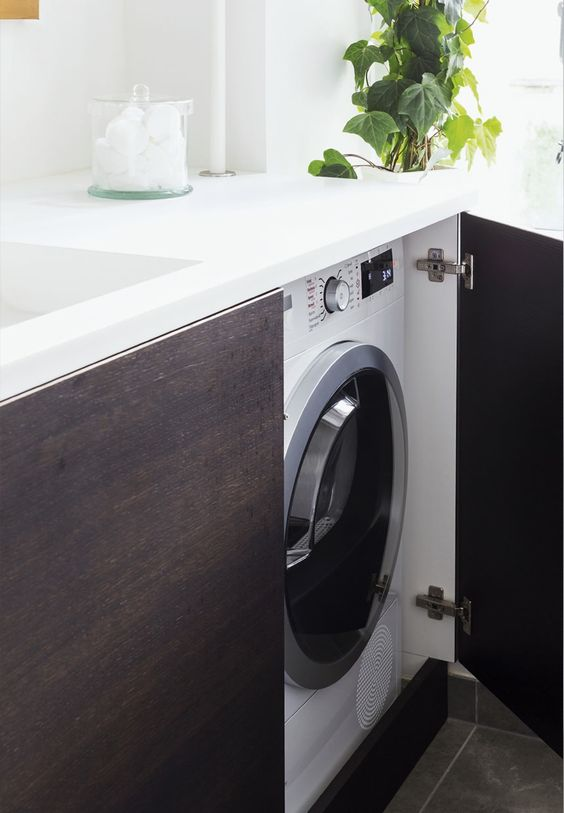 Come nascondere la lavatrice in bagno - Architempore