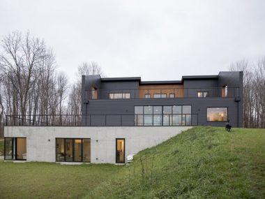 Una villa in stile moderno a misura di bambini
