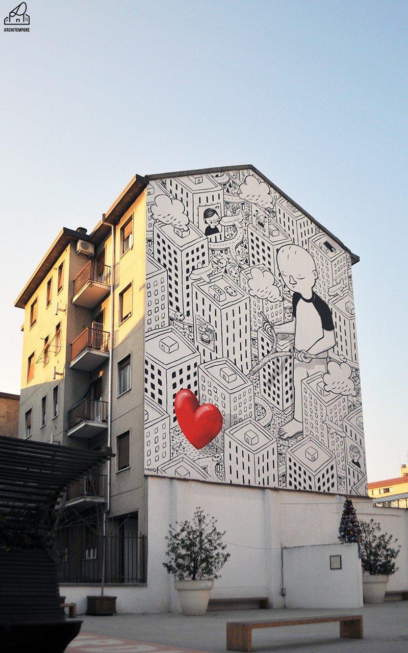 White in the city: Milano si tinge di bianco