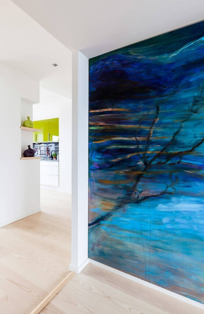 Home Tour | Una casa dalle pareti colorate in Finlandia