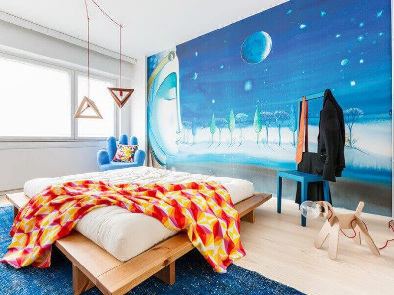 Home Tour   Una casa dalle pareti colorate in Finlandia