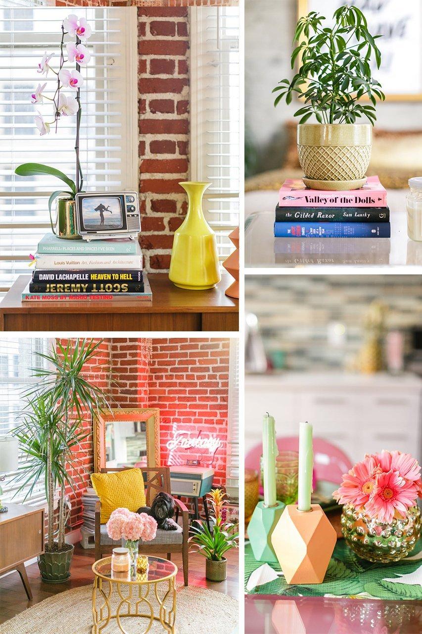 Home Tour | Arredare un bilocale con piante e colori