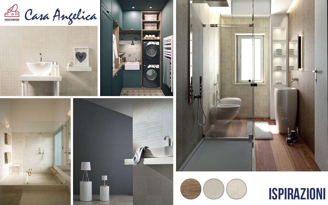 Portfolio trasformare un bagno stretto e lungo per guadagnare spazio architempore - Colori per il bagno ...
