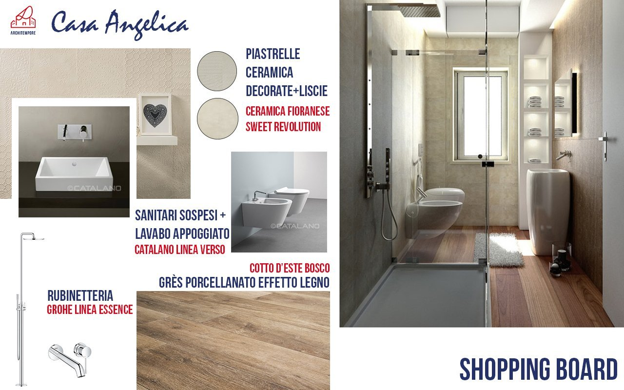 Portfolio trasformare un bagno stretto e lungo per - Mobile bagno stretto ...