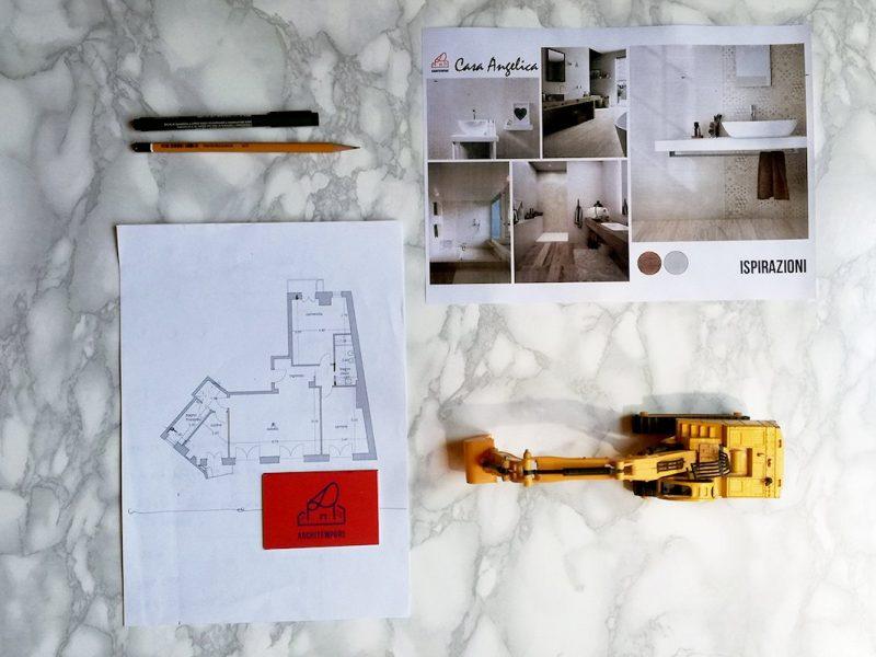 Portfolio | Trasformare un bagno stretto e lungo per guadagnare spazio!