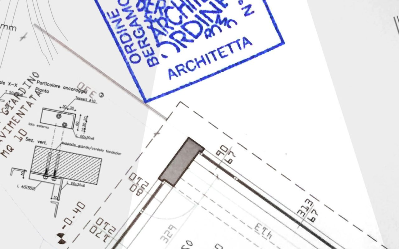 Architetti A Bergamo architetta arriva anche sui timbri ufficiali (sfatiamo le