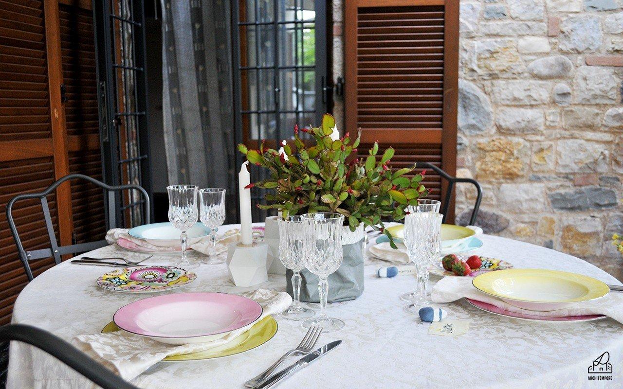 Apparecchiare una tavola estiva in stile boho chic