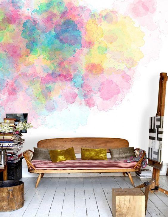 Decorare le pareti di casa con la pittura - Architempore