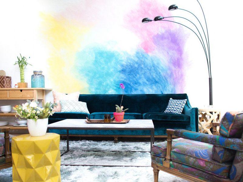 Decorare le pareti di casa con la pittura
