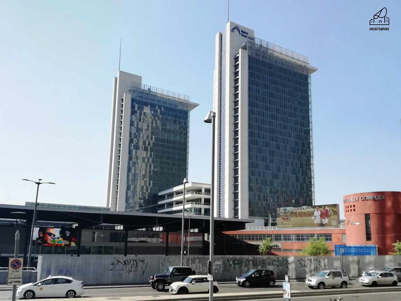 I grattacieli a milano storia della milano alta for Piani di costruzione dell edificio