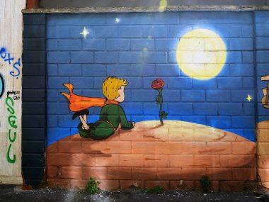 Street art a Milano: graffiti in zona Isola