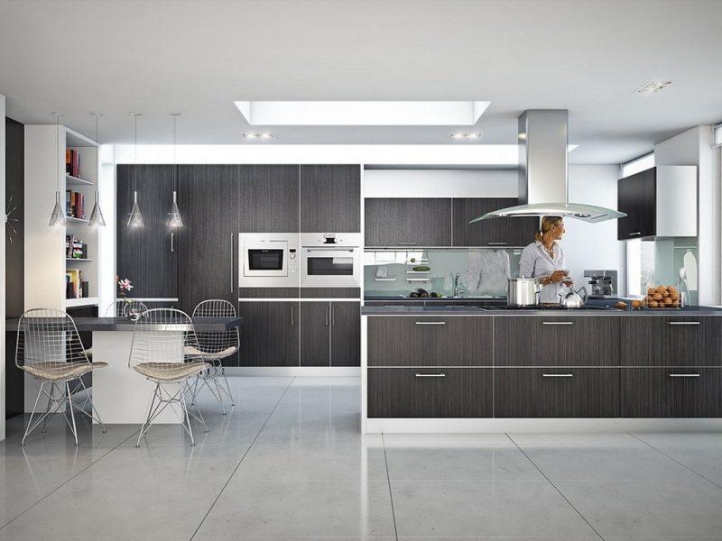 Illuminare la cucina con strisce led e faretti