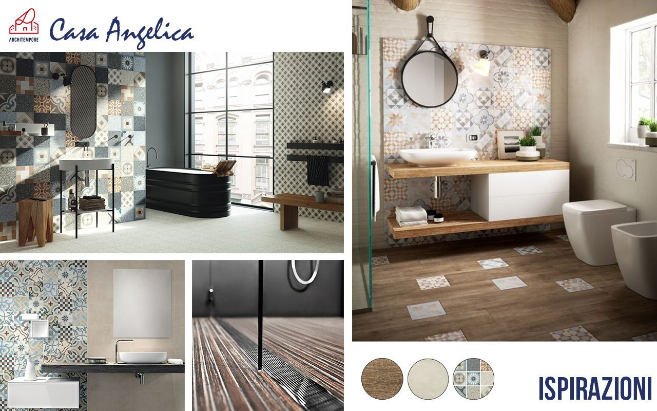 Portfolio arredare un bagno moderno architempore - Arredare il bagno moderno ...