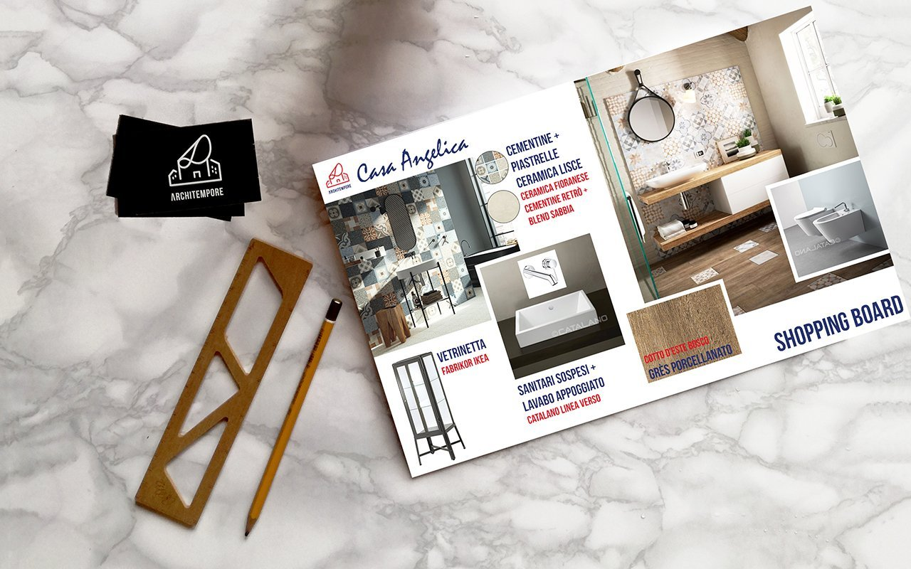 Portfolio | Arredare un bagno moderno