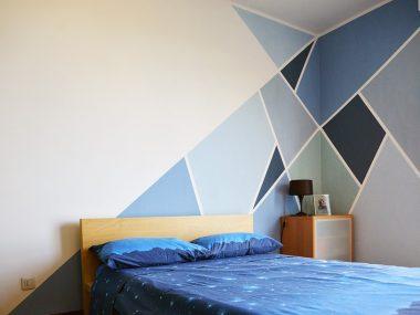 Decorare le pareti della camera da letto in modo creativo
