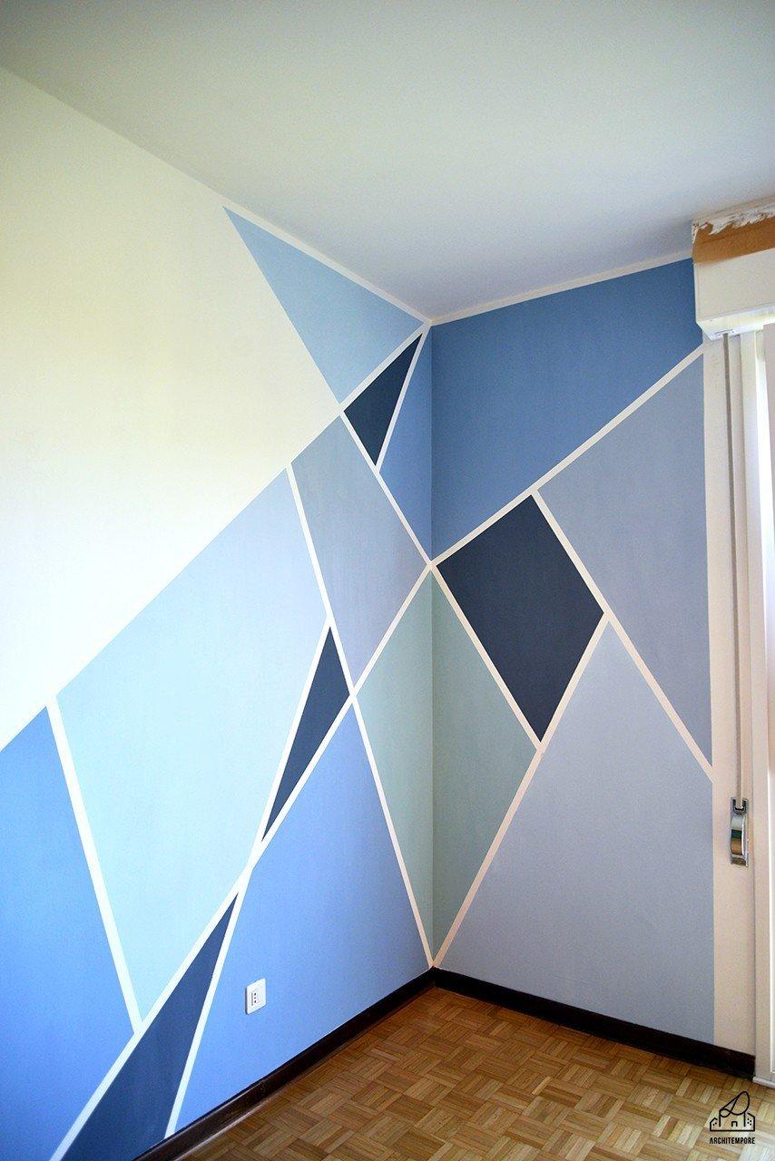 decorare le pareti della camera da letto in modo creativo ... - Decorare Le Pareti Della Camera Da Letto