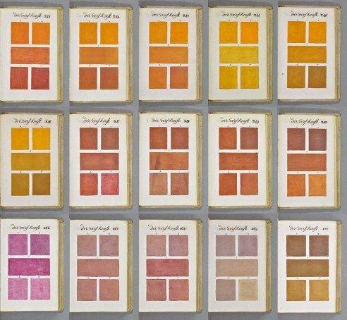 Storia del colore: la prima guida pre - Pantone