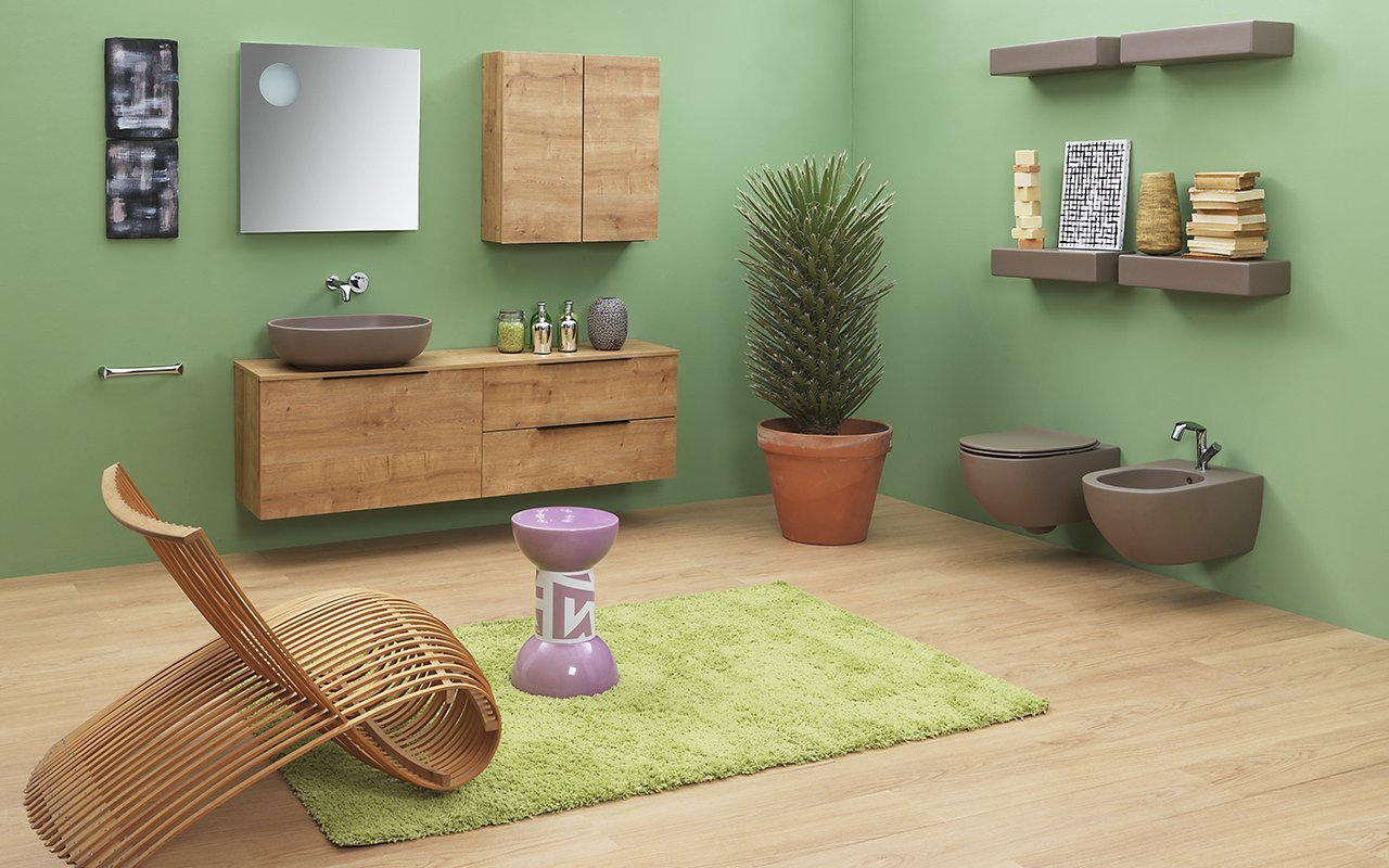 Cersaie: tendenze 2018 per arredo bagno e ceramiche