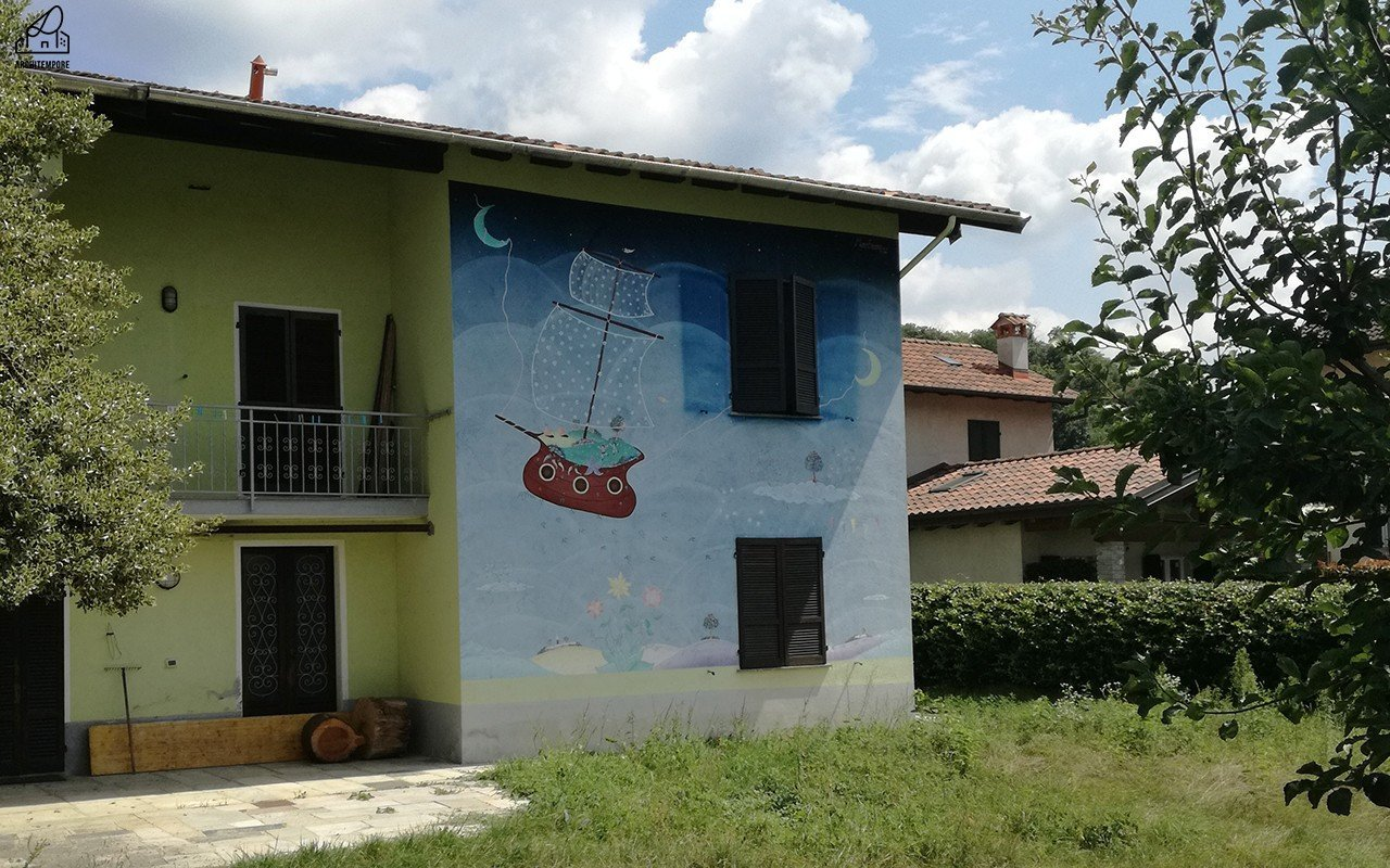 Legro paese dipinto: murales sul Lago d'Orta