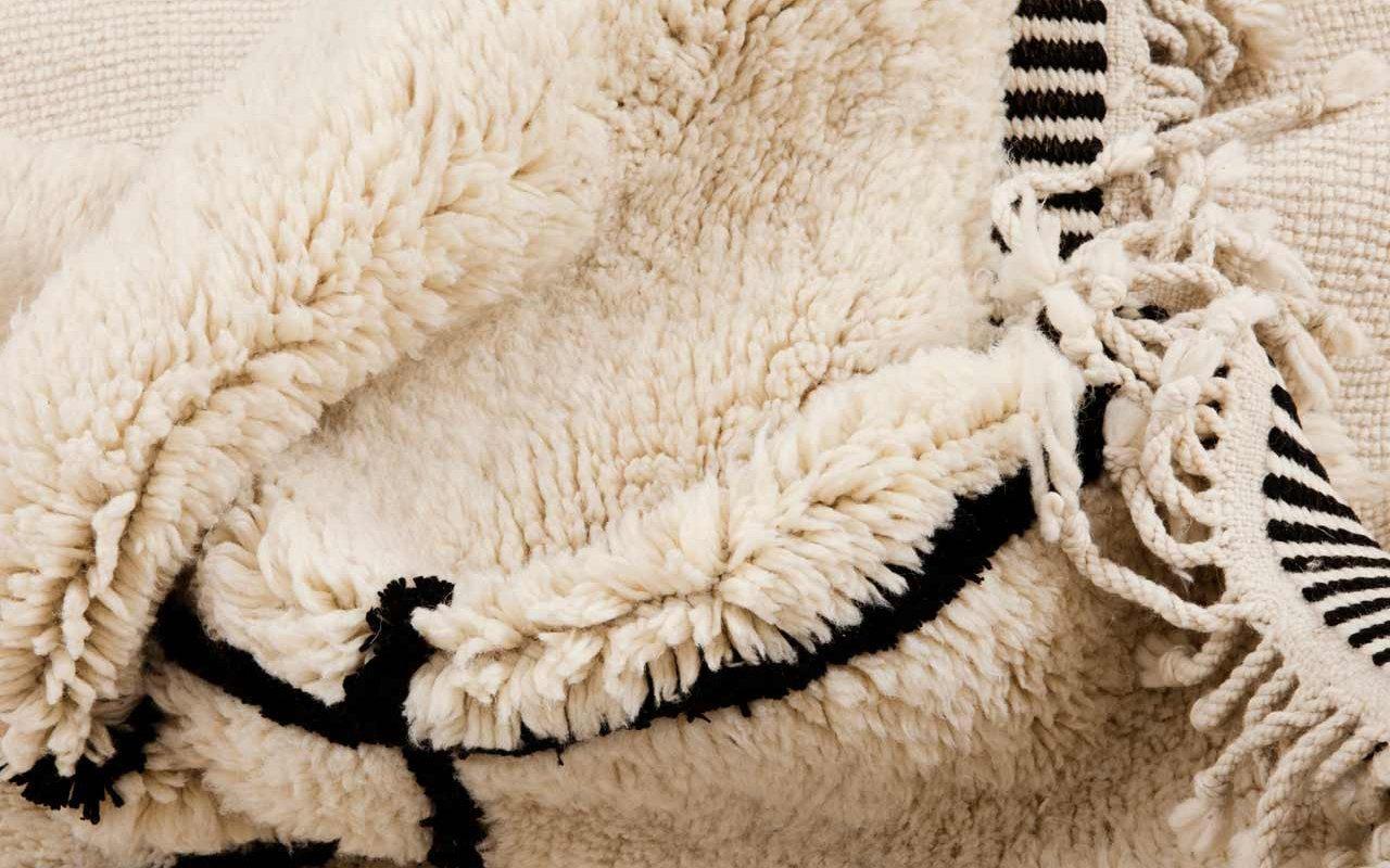 Trend alert: tappeto Beni Ourain, cos'è e dove trovarlo