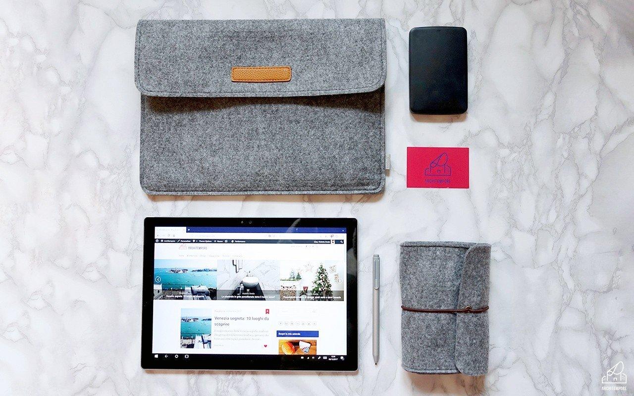 ArchiTech | La mia attrezzatura da blogger