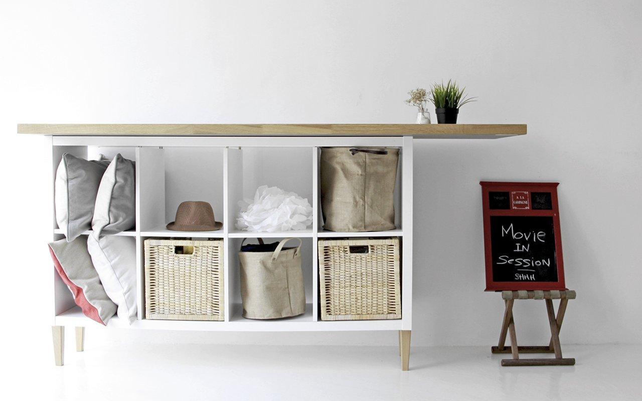 Gambe Per Mobili Ikea idee originali per utilizzare lo scaffale kallax ikea