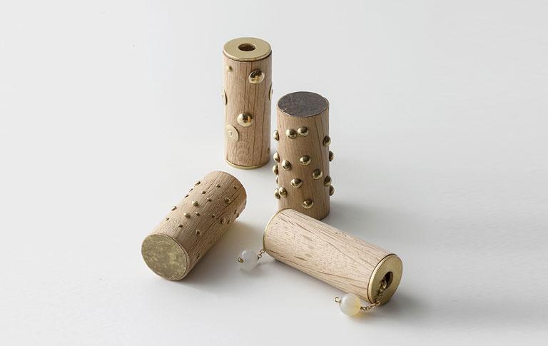 Pezzi di Venezia trasformati in oggetti di design in legno