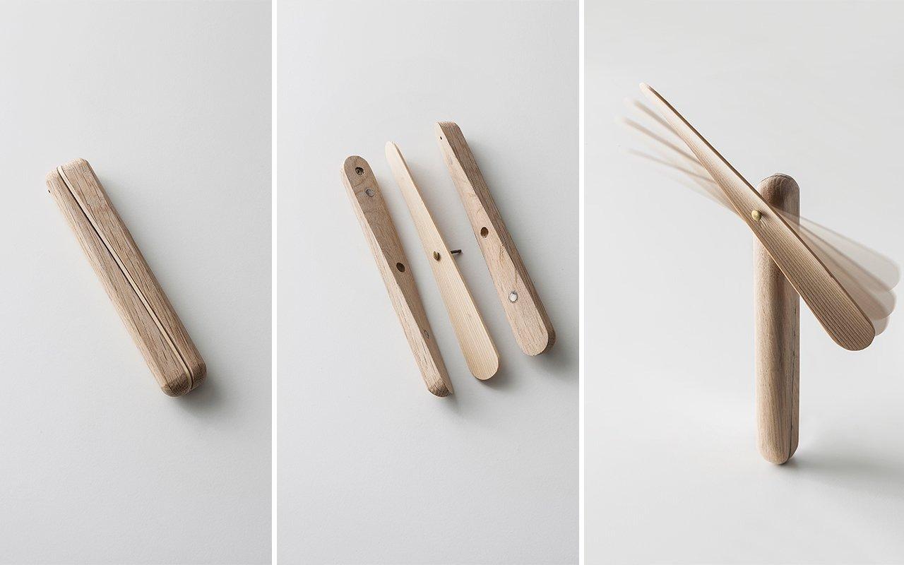 Pezzi di venezia trasformati in oggetti di design in legno for Oggetti design