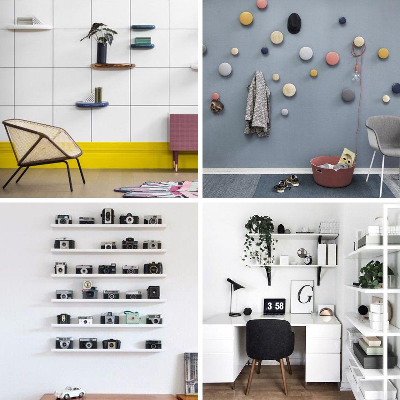 Idee su come arredare le pareti senza quadri architempore for Idee quadri soggiorno