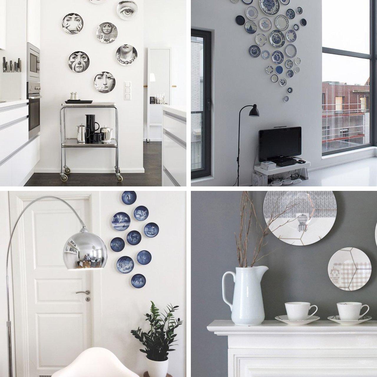 Idee su come arredare le pareti senza quadri!