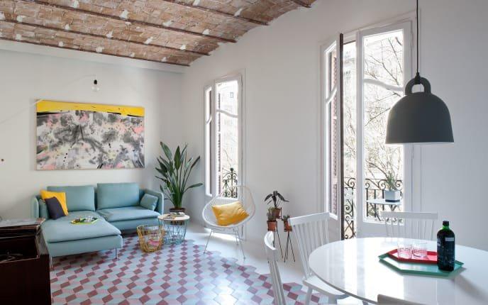 Home Tour | Una casa scandi e mediterranea a Barcellona