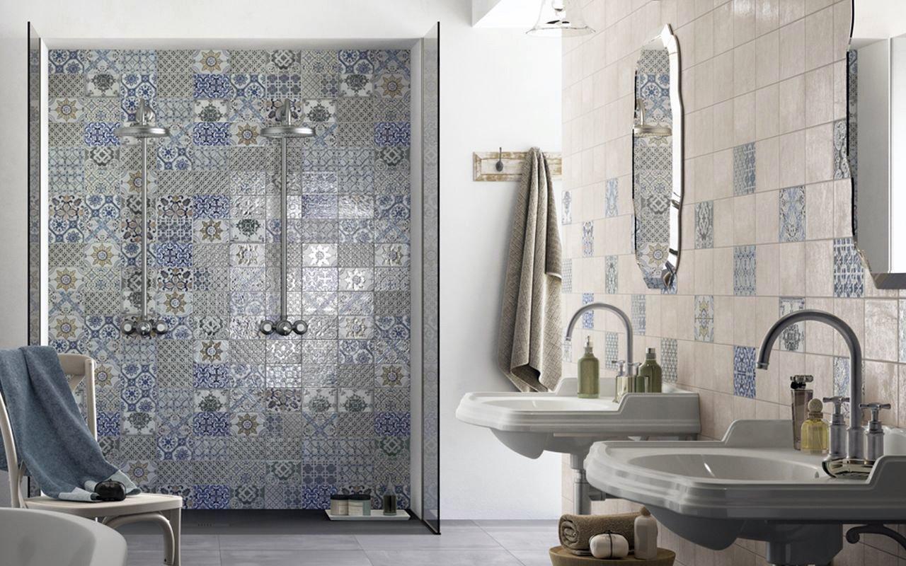 Portfolio come arredare un bagno piccolo e senza - Come rivestire il bagno ...