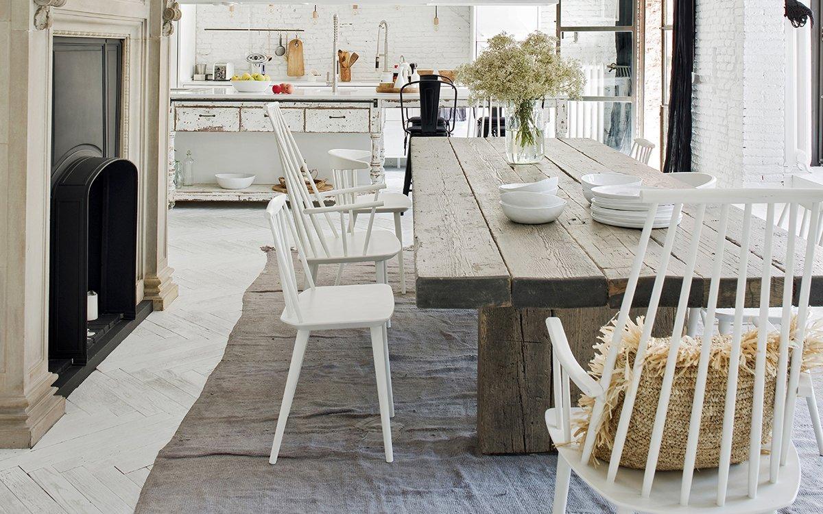 10 sedie bianche perfette per la cucina architempore - Sedie per la cucina ...