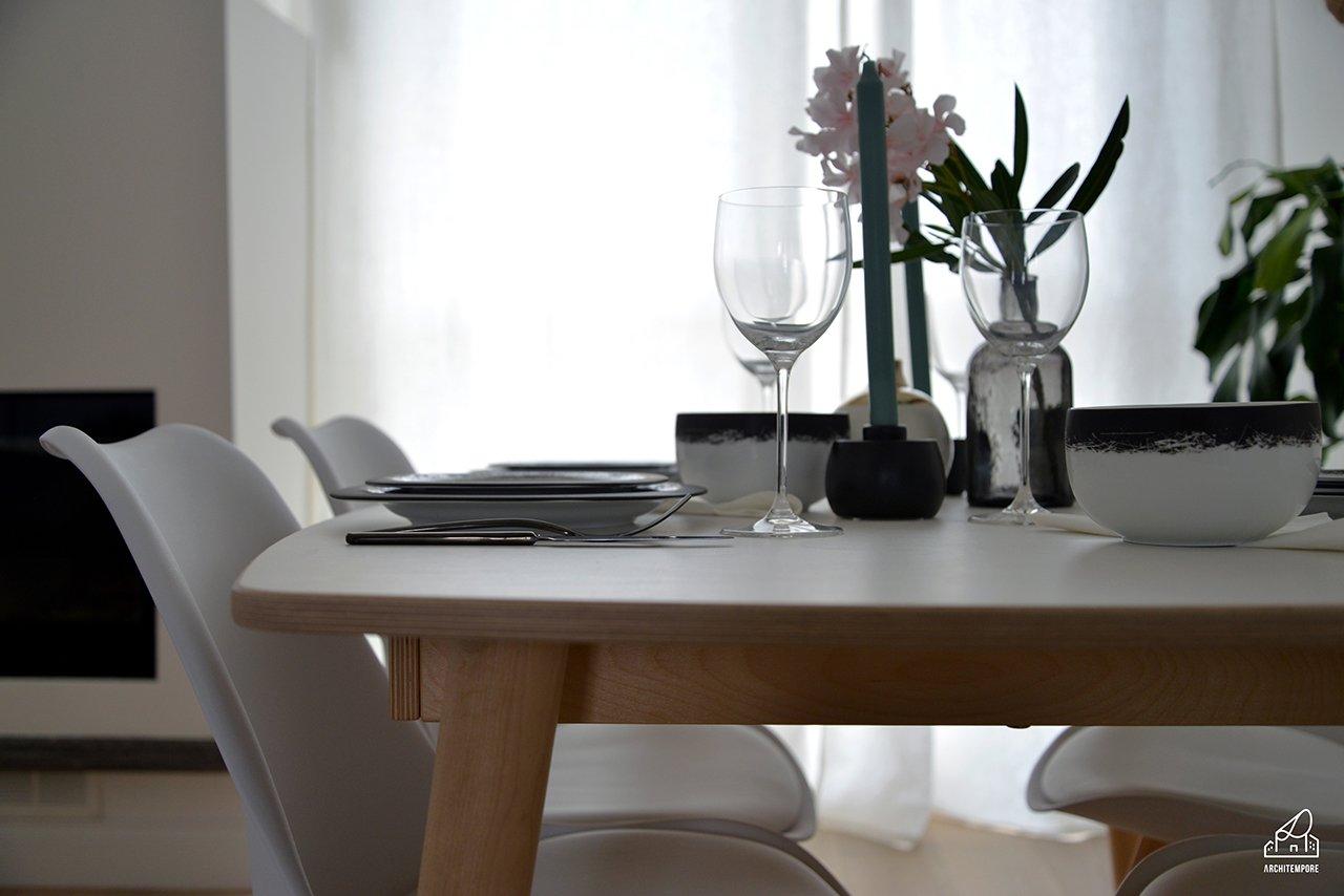 Apparecchiare una tavola in stile scandi