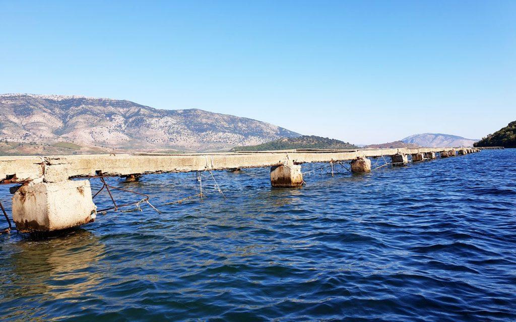 Lago di Butrinto, sito Unesco dedicato alla coltivazione delle cozze