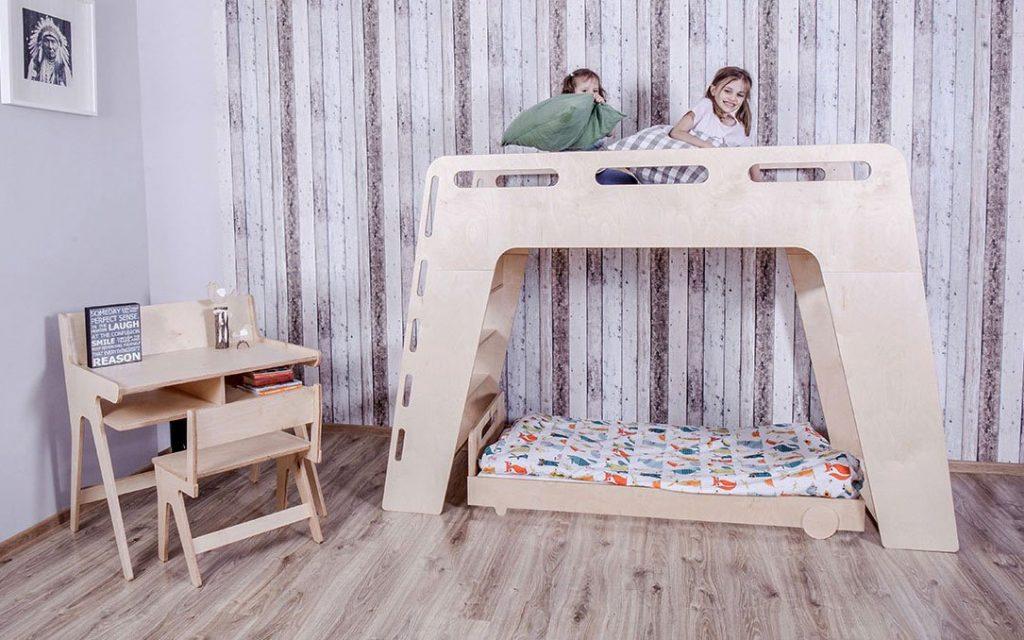 Cameretta salvaspazio: arredare una camera piccola Montessori