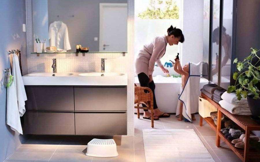 Arredare il bagno a misura di bambini