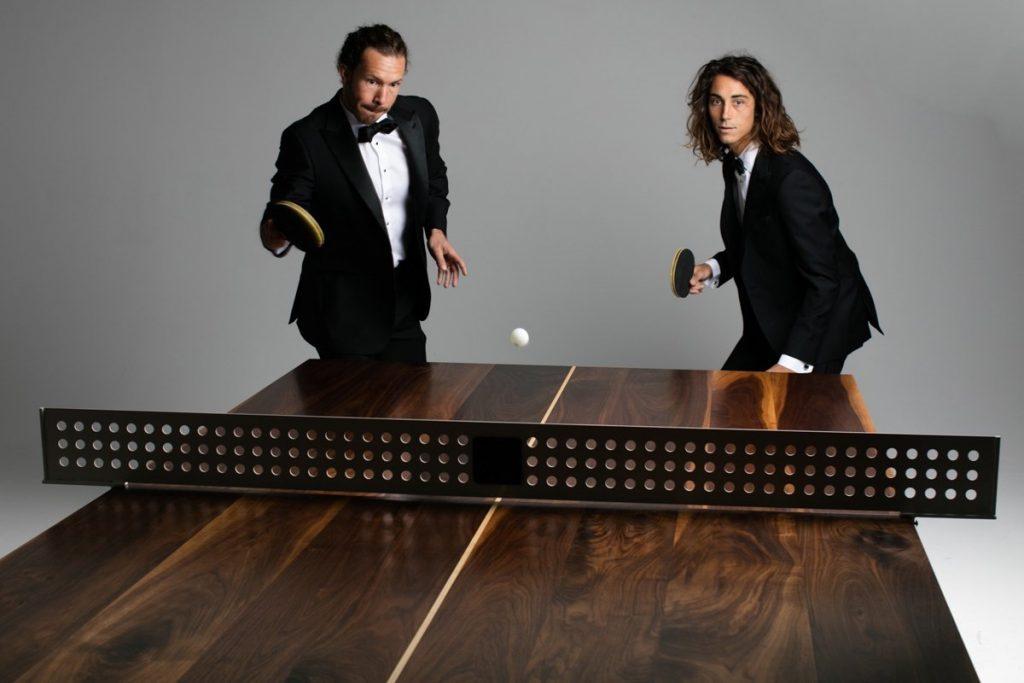 Trend alert: tavolo da ping pong di design